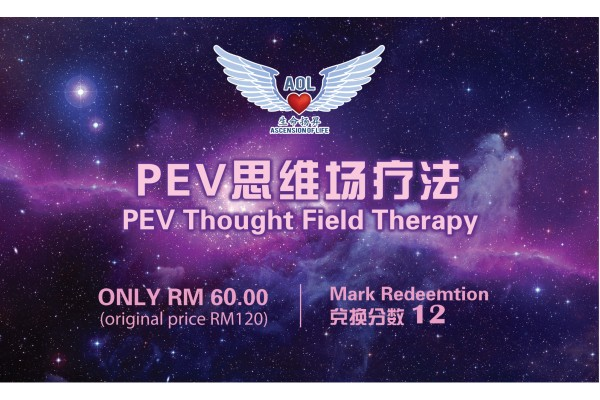 PEV Thought Field Inner Peace Treatment (60 min)