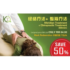 Meridian + Chiropractic Treatment (60min)